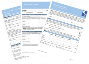 CAA & BGA Licensing Forms